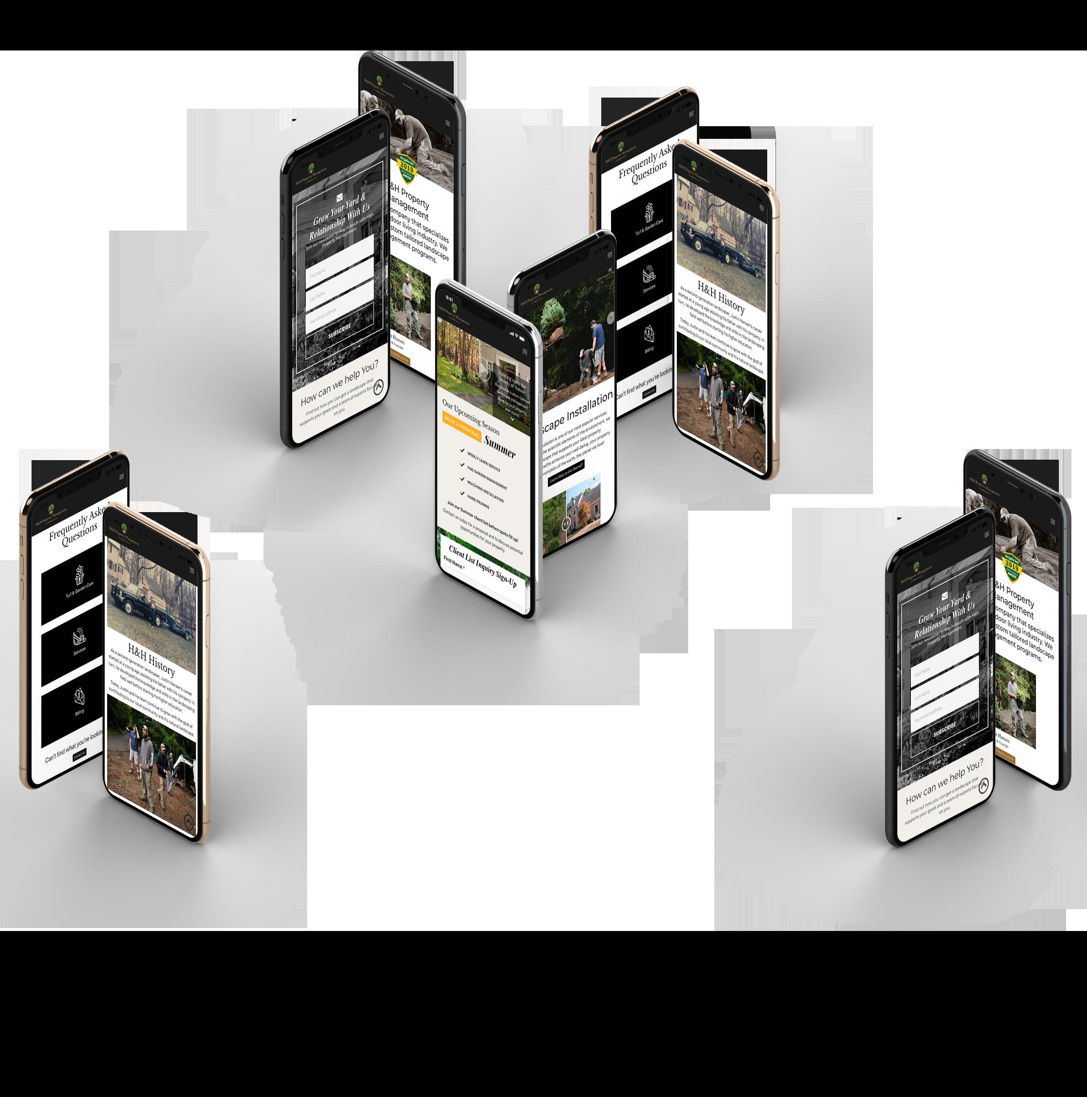 Mobile Website Feature